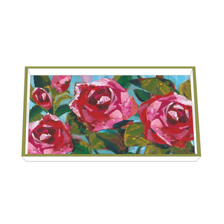 Rose Musée Wood Lacquered Vanity Tray
