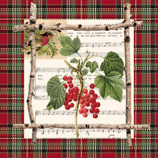 Chalet Berries Napkins