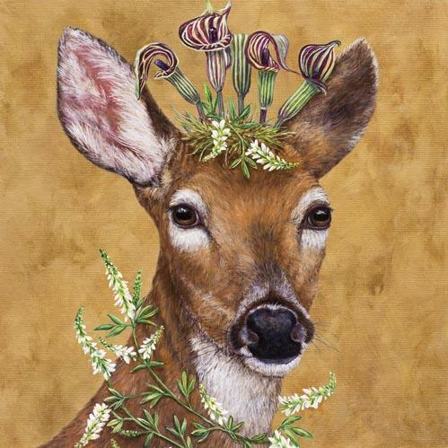 Woodland Princess Napkins