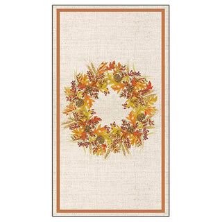 Harvest Wreath Guest Towel