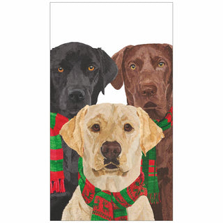 Merry Labradors Guest Towel