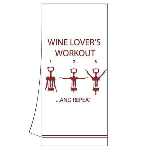 Wine Graphic Kitchen Towel (min.6)
