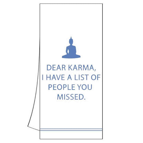 Dear Karma Kitchen Towel (min.6)