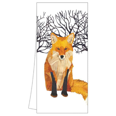 Winter Fox Kitchen Towel (min.6)
