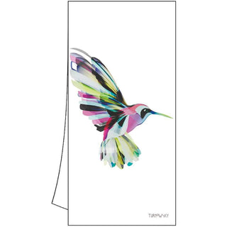 Corfu Hummingbird Kitchen Towel