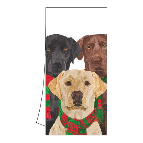 Merry Labradors Kitchen Towel