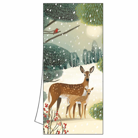 Holiday Meadow Kitchen Towel
