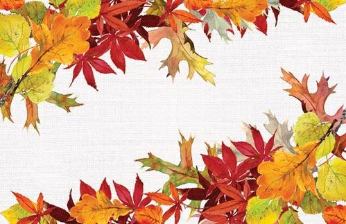 Golden Autumn Placemat Set