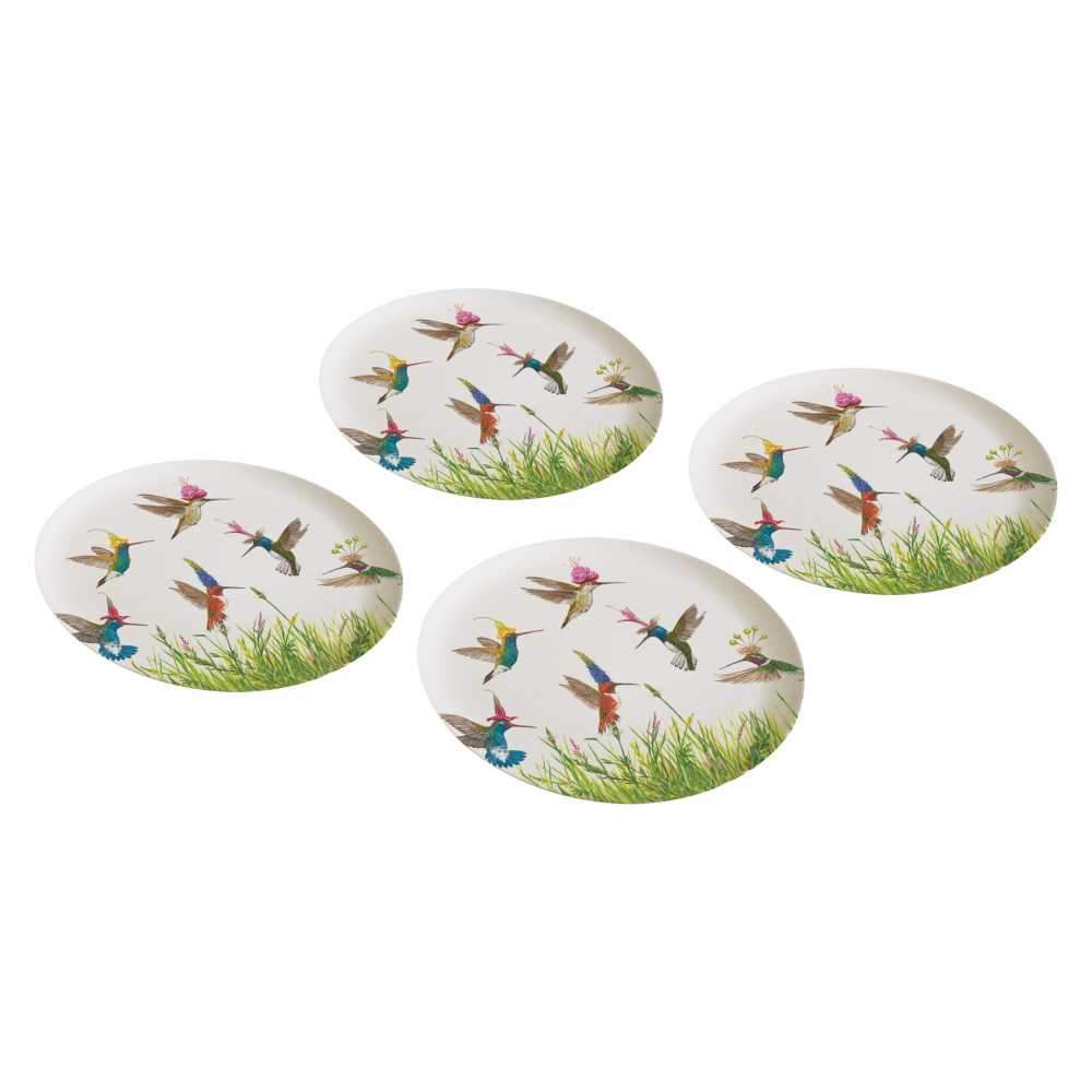 Meadow Buzz Bamboo Plate Set