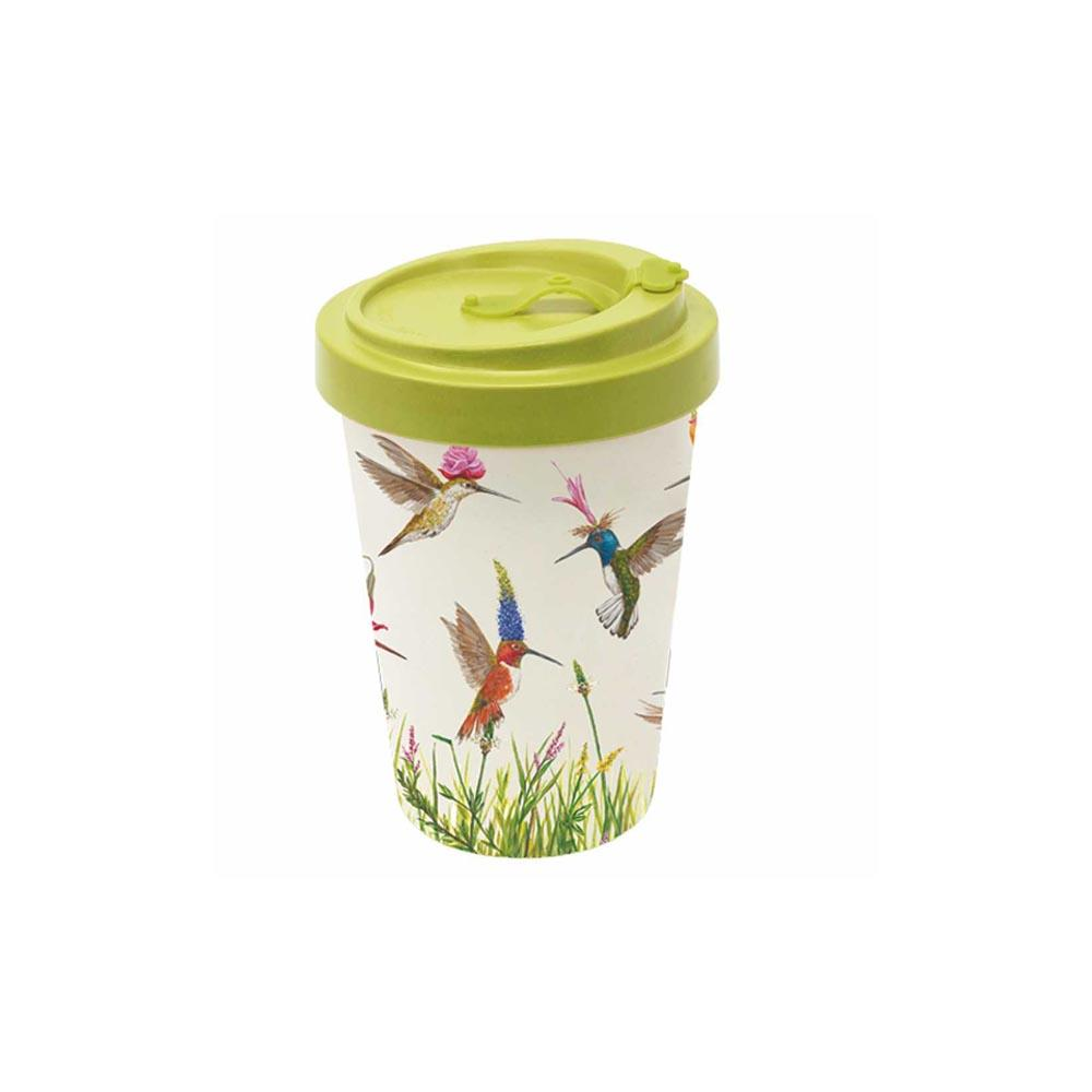 Meadow Buzz Bamboo Travel Cup with Lid