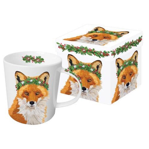 Glacier Fox Gift-Boxed Mug