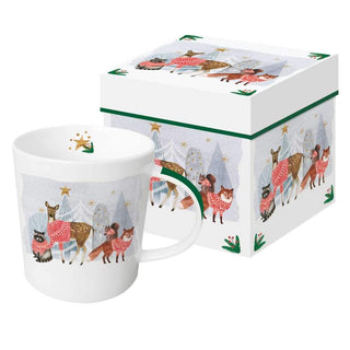 Winter Gathering Gift-Boxed Mug
