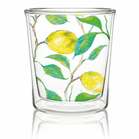 Beautiful Lemons Tea/Coffee Glass