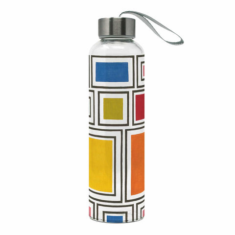 London Glass Water Bottle