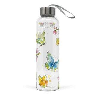 Springtime Glass Water Bottle