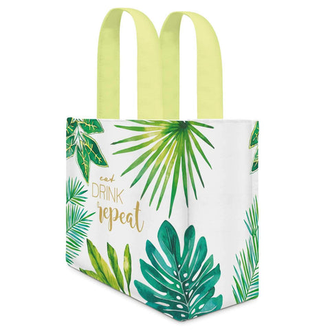 Eat, Drink, Repeat Canvas Lunch / Gift Bag