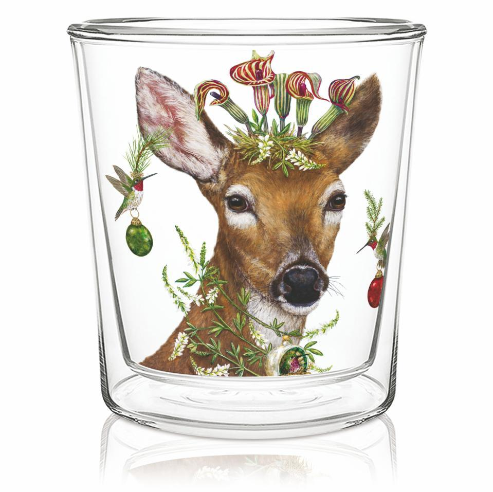 Christmas Princess Tea/Coffee Glass