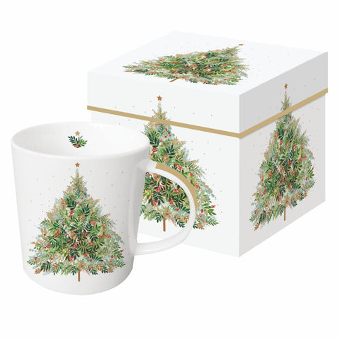 Christmas Hill Tree Gift-Boxed Mug