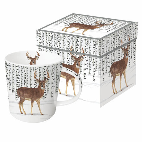 Wilderness Stag Gift-Boxed Mug