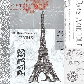 Paris Beverage Napkin