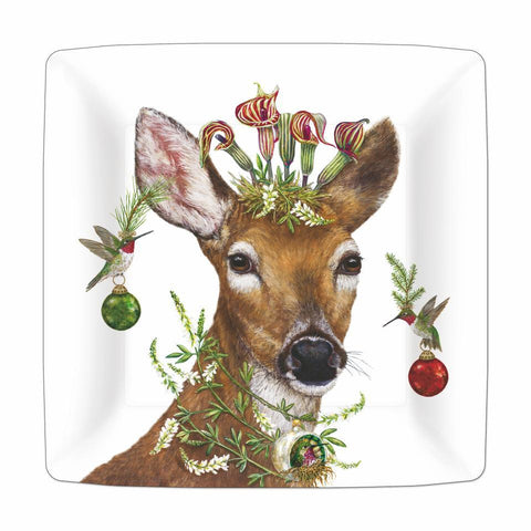 "Christmas Princess 10"" Paper Plate"