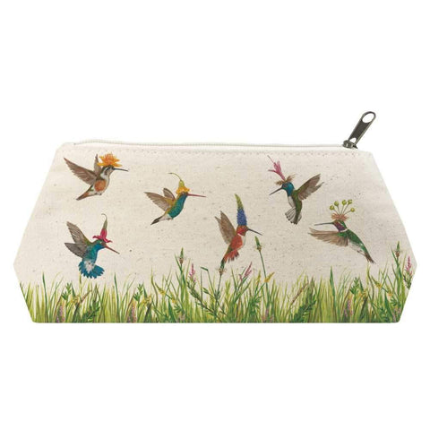 Meadow Buzz Canvas Cosmetic Bags