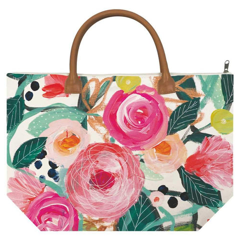 La Belle Rose Canvas Tote Bag