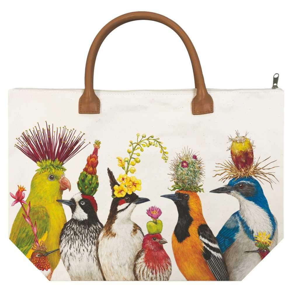 The Entourage Canvas Tote Bag