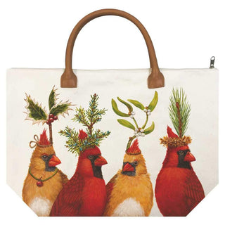 Holiday Party Canvas Tote Bag