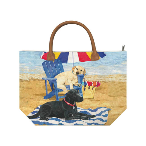 Dog Days of Summer Canvas Tote Bag