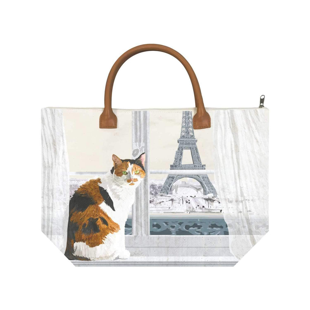 Madeleine à Paris Canvas Tote Bag