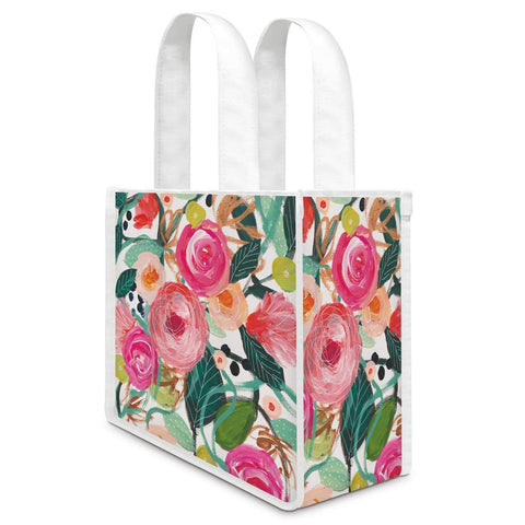 La Belle Rose Canvas Lunch / Gift Bag
