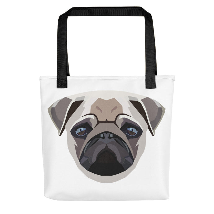 Pug Polygon Tote Bag - Pet's Welfare