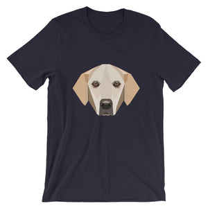 Golden Retriever Polygon Unisex T-Shirt - Pet's Welfare