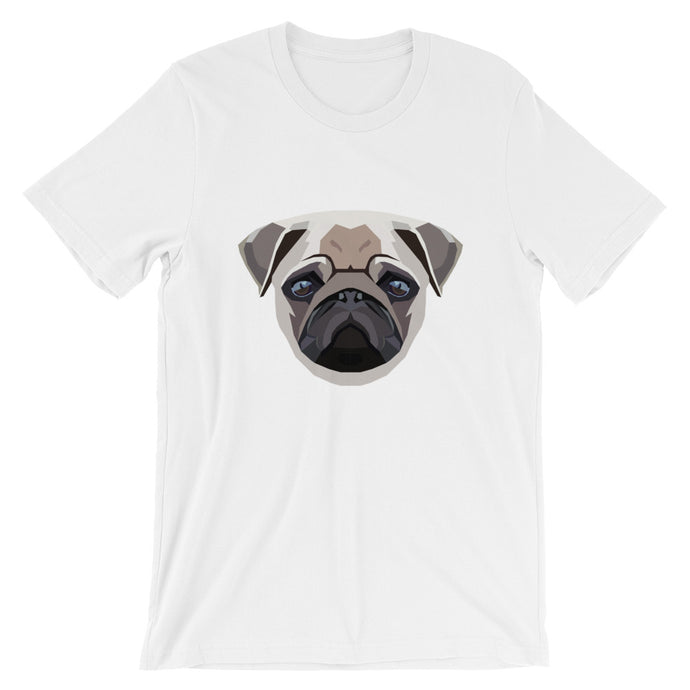 Pug Polygon Unisex T-Shirt - Pet's Welfare