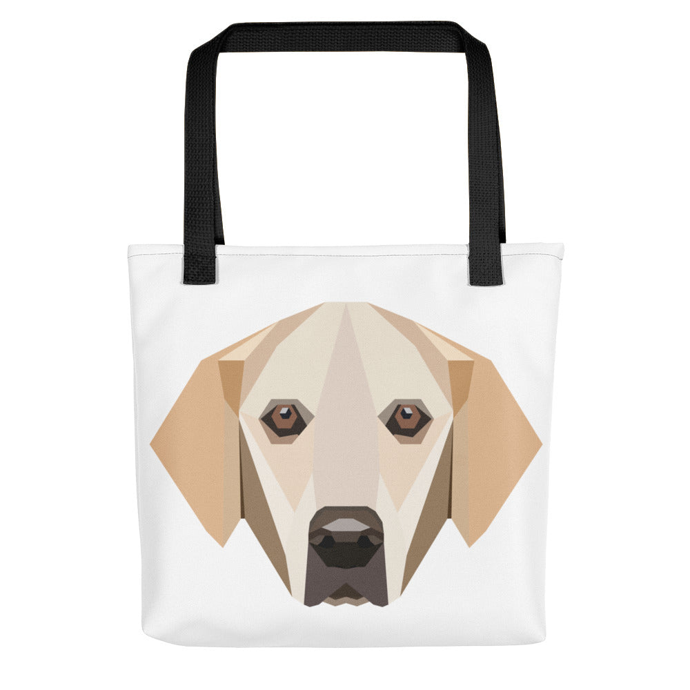 Golden Retriever Polygon Tote Bag - Pet's Welfare