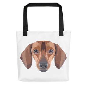 Dachshund Polygon Tote bag - Pet's Welfare
