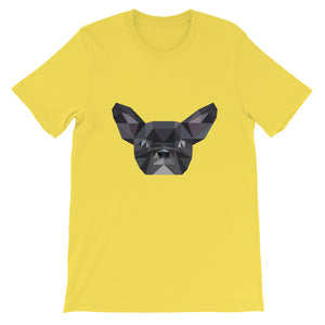 French Bulldog Polygon Unisex T-Shirt - Pet's Welfare