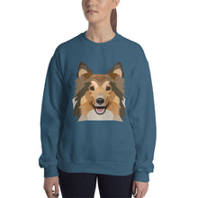 Sheltie / Collie Polygon Unisex Sweatshirt - Pet's Welfare