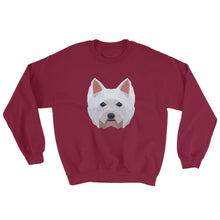 Westie Polygon Unisex Sweatshirt - Pet's Welfare