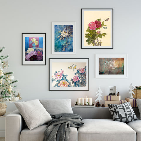 Fine art prints will last for a long time and preserve their beauty