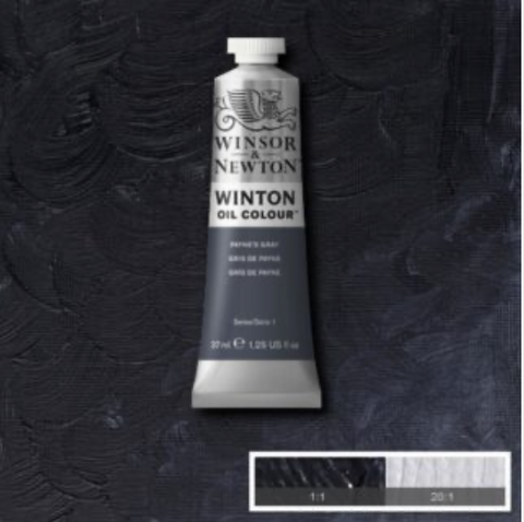 Winsor & Newton Artist Oil Paint - Paynes Grey
