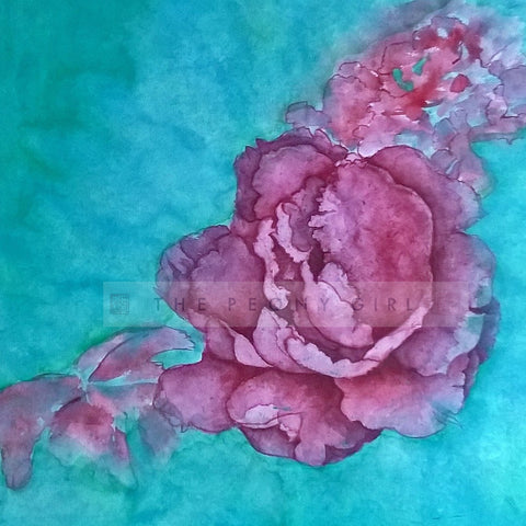 Turquoise Dream - The Peony Girl