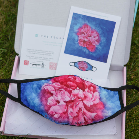 Ladies Fashion Masks - Peony Passion - The Peony Girl