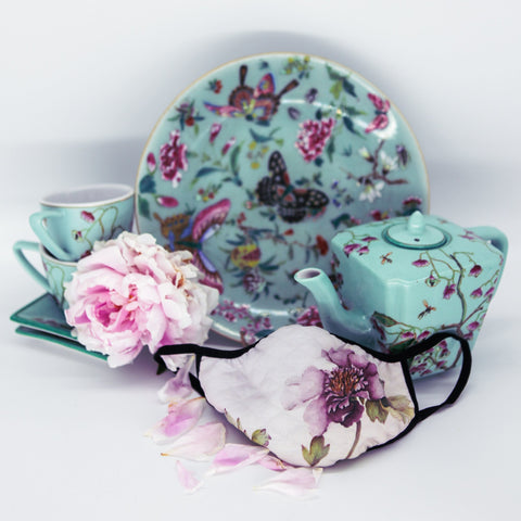 Ladies Fashion Masks - Peony Purple - The Peony Girl
