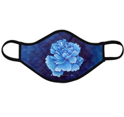 Ladies Fashion Masks - Porcelain Blue - The Peony Girl