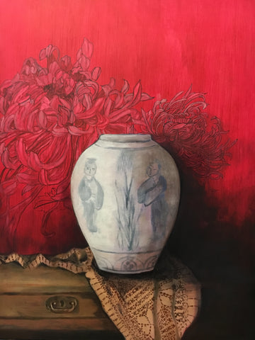 Outside the Vase - The Peony Girl