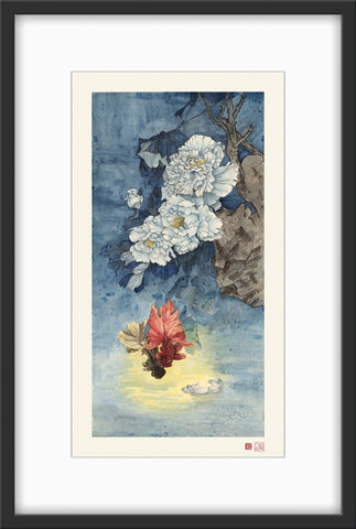Fine Art Prints: Intoxicating Sheen - The Peony Girl