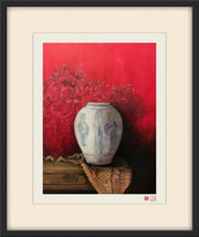 Fine Art Prints: Outside the Vase - The Peony Girl