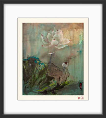 Fine Art Prints: Rising Above the Silt - The Peony Girl